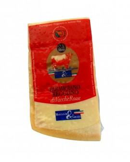 Punta doppia crosta SV Parmigiano Reggiano Vacche Rosse 22 mesi - 1 kg - Montanari & Gruzza