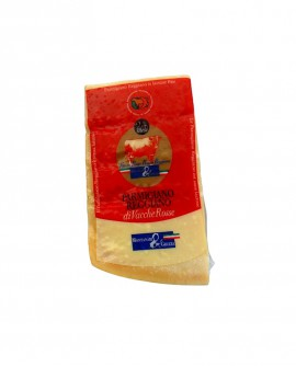 Punta doppia crosta SV Parmigiano Reggiano Vacche Rosse 22 mesi - 500 g - Montanari & Gruzza