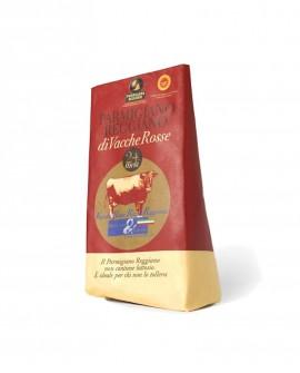 Punta doppia crosta incartato a mano Parmigiano Reggiano Vacche Rosse 22-24 mesi - 1 kg - Montanari & Gruzza