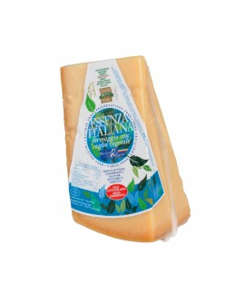 Punta doppia crosta SV 1Kg ESSENZA ITALIANA formaggio duro italiano - 14 mesi - 1 kg - Montanari & Gruzza