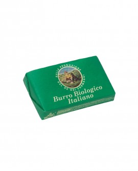 Burro BIOLOGICO da panna italiana pastorizzata - panetto 250g - Montanari & Gruzza