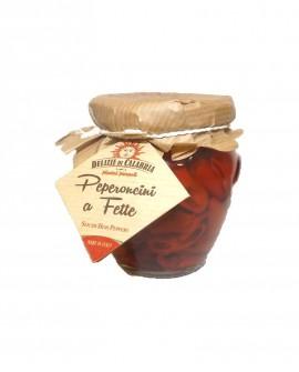 Peperoncini Calabrese a Fette Orcio - 180 g - Delizie di Calabria