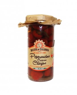 Peperoncino ciliegino calabrese - 135 g - Delizie di Calabria