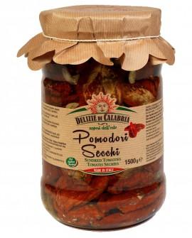 Pomodori Secchi - 1500 g - Delizie di Calabria
