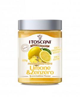 Confettura extra di limone e zenzero senza glutine - 320 gr - Agrifood Toscana