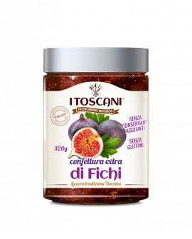 Confettura extra di fichi senza glutine - 320 gr - Agrifood Toscana