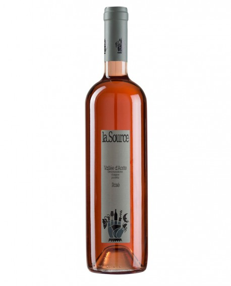 Rosé - 70% Sirah 20% Premetta 10% Gamay - vino rosso fermo 750 ml - Cantina La Source
