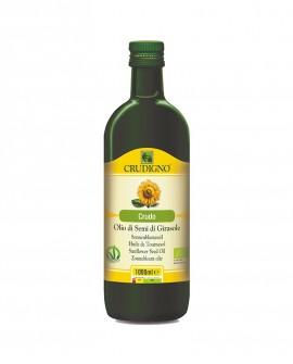 Olio di semi di Girasole biologico spremuto a freddo - 1 l - Crudigno