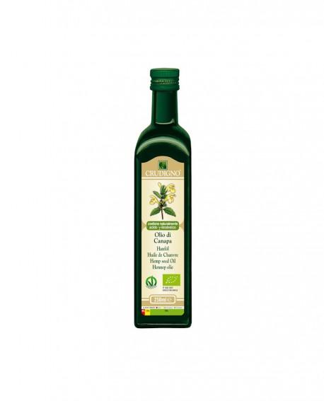 Olio di semi di Canapa spremuto a freddo - 250 ml - Crudigno