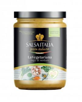 La Vegetariana - Ragù di Verdure - da 270 Gr - Gluten Free - Salsa Italia