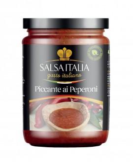 Sugo Piccante ai Peperoni da 270 Gr - Gluten Free - Salsa Italia