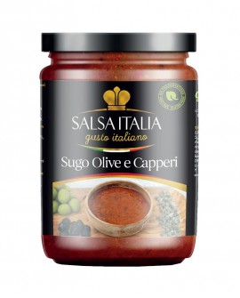 Sugo Olive e Capperi da 270 Gr - Gluten Free - Salsa Italia