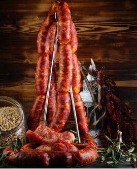 Salsiccia di Monte San Biagio Barzotta Dolce vaschetta 500g - Salumi Grufà