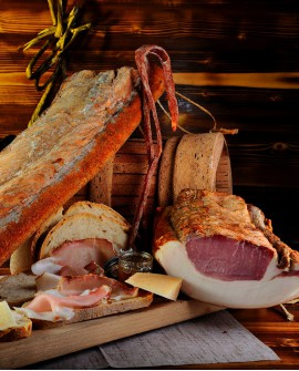 Lombetta San Biagio 250-300 gr sottovuoto - Salumi Grufà