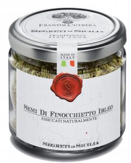 Semi di Finocchietto selvatico Ibleo, essiccato naturalmente - vasetto di vetro - 90 g - Frantoi Cutrera Segreti di Sicilia