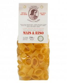 MAIS E RISO Calamari senza glutine 250 gr Lorenzo il Magnifico - Pasta BIOLOGICA - Antico Pastificio Morelli