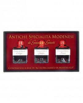 Antiche Specialità Modenesi - Condimento Tris di Calamai - astuccio in cartone - 50mlx3 - Giuseppe Giusti Modena