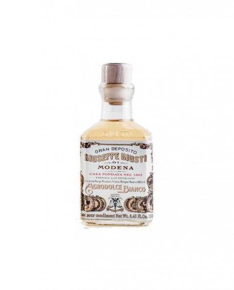 Agrodolce Bianco - 5 anni - Condimento Agrodolce Bianco - Cubica - ml 250 - Giuseppe Giusti Modena dal 1605