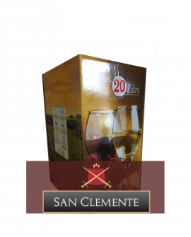 Umbria Bianco IGP Bag-in-Box da 10 litri - Cantina San Clemente