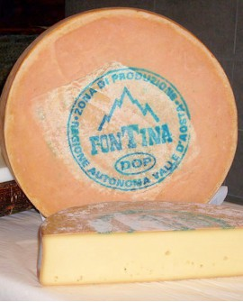Fontina D.O.P. Porzionata 1/8 1 kg - Caseificio Artigiano Variney - Elisei Duclos