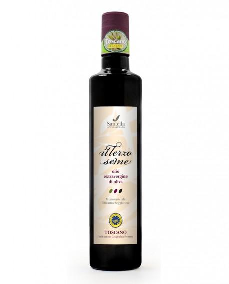 Olio Il Terzo Seme, Toscano IGP Bottiglia da 100 ml - Olearia Santella