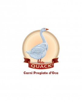 Salame Cacciatorino d'Oca - 150g - Quack Italia