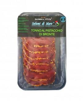Affettato Tonno in crosta di pistacchio - skin 50g - scadenza 33gg - Salumi di Mare