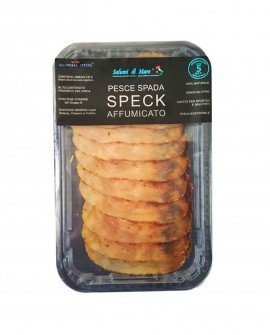 Affettato Pesce Spada speck affumicato - skin 50g - Salumi di Mare