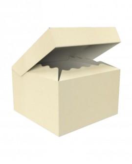 Bauletto con coperchio attaccato alla scatola 32,5X22,5 H13,5 - n-20 pezzi - Cesteria M.B. Service