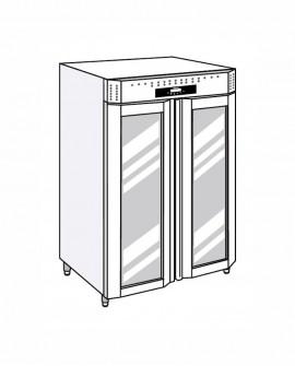 Armadio frigorifero Stagionatore 1500 VIP Carni e Formaggi - STG ALL 1500 VIP CF LCD - Refrigerazione - Everlasting