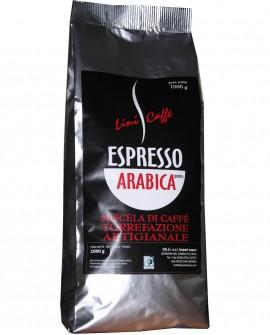 Caffè Espresso italiano in grani – 1 kg miscela 100% Arabica – Lini Caffè