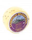 Formaggio Misto al pepe nero - ovino-vaccino 1,4-1,6 Kg - stagionatura 20 giorni - Caseificio Mazzatosta