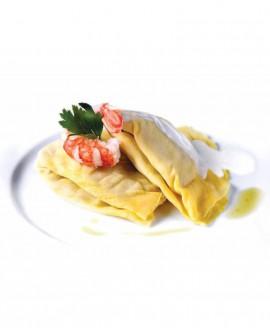 Crespelle radicchio e speck - 1 kg - pasta surgelata - CasadiPasta