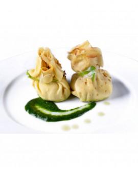 Saccottino di Crespella radicchio e speck - 1 kg - pasta surgelata - CasadiPasta