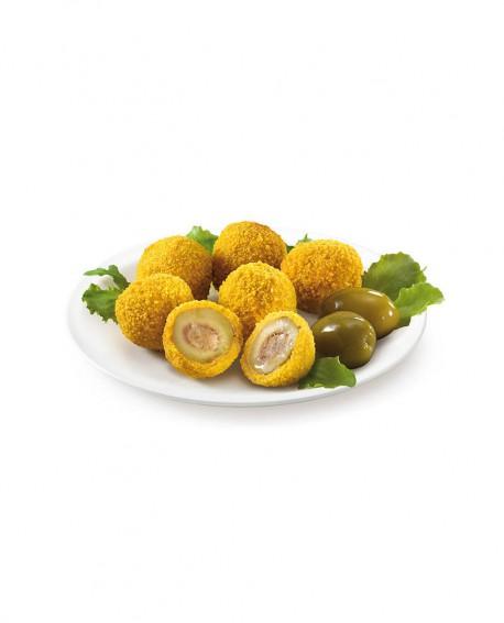Olive all'ascolana 30g surgelato - cartone 6 kg - Frittoking