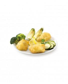 Mix 6 di verdure in pastella surgelato - cartone 6 kg - Frittoking