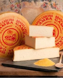 Formaggio branzi de la bergamasca Cascina Gamba - porzionato 2kg - Salumificio Gamba Edoardo