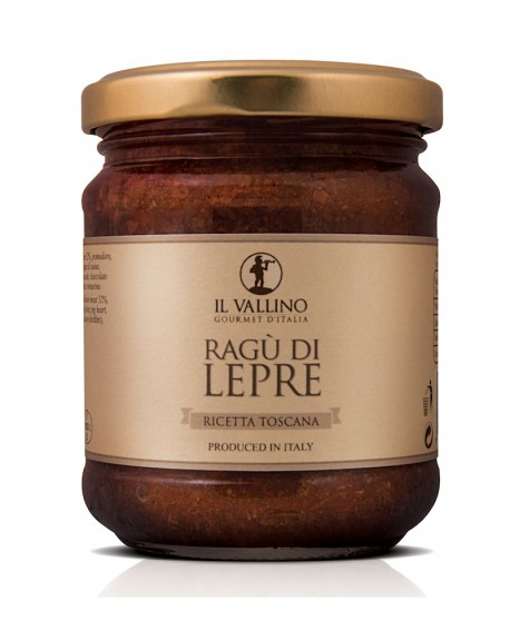 Ragù di Lepre 180 g - Il Vallino