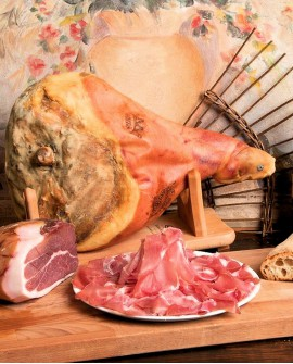 Prosciutto crudo Parma dop con osso 10Kg 18 mesi - Salumificio Gamba Edoardo