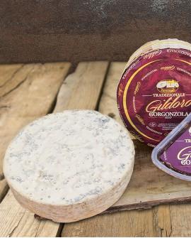 Gildoro gorgonzola Dop tradizione in vaschetta 1.5kg stagionatura 60gg - Gildo Formaggi