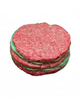 Hamburger da 125g cadauno Fassona Piemontese - bovino carne fresca - porzionato 1Kg - Macelleria GranCollina