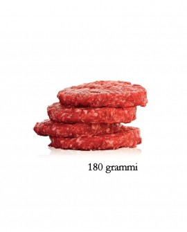 Hambuger 180g di Chianina IGP - 2 Kg - Carni Pregiate Certificate - Tenuta Luchetti