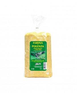 Farina per polenta macinata a pietra 500 g - Valpi