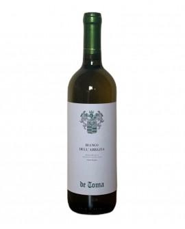 Bianco dell'Abbazia - Bergamasca Igt - Pinot bianco - vino bianco 0,75 lt - Scanzorosciate dal 1894 - Cantina De Toma Wine