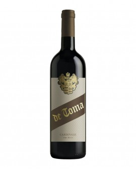 Cardinale - vino rosso 0,75 lt - Scanzorosciate dal 1894 - Cantina De Toma Wine