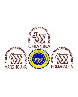 Lombo intero di Marchigiana IGP in scatola - 28 Kg - frollatura 7gg - Macelleria Carni IGP Certificate