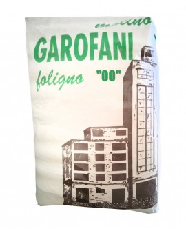 Farina tipo 00 grano tenero italiano - sacco da kg 25 - Molino Garofani