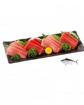 Sashimi Tranci di Tonno Pinna Gialla - congelato - in vaschetta 500g - gourmet Pescheria F.lli Manno