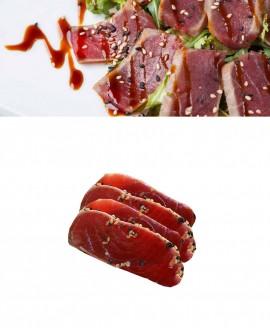 Sashimi Tranci Takaki di Tonno Pinna Gialla - congelato - in vaschetta 500g - gourmet Pescheria F.lli Manno