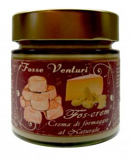 FOS-CREAM crema di formaggio al naturale a base di pecorino infossato - 190g - Formaggi Fosse Venturi